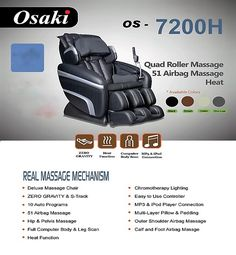 Osaki OS   7200H Massage Chair. The Best Prices On Osaki, Titan U0026 Apex