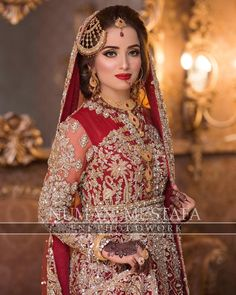 The Effective Pictures We Offer You About Bridal Outfit two pieces A quality picture can tell you many things. You can find the most beautiful pictures that can be presented to you about Bridal Outfit Bridal Mehndi Dresses, Bridal Dupatta, Pakistani Bridal Makeup, Asian Bridal Dresses, Pakistani Wedding Dresses, Pakistani Dress Design, Bridal Outfits, Indian Bridal, Bridal Makeup Looks