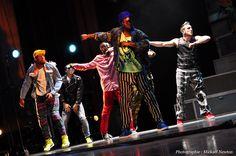 Blaze The Show, première à Paris, le 16 mai 2012