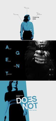 Agent Peggy Carter + Blue