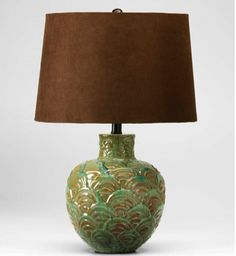hand painted antique lamps - Google Search