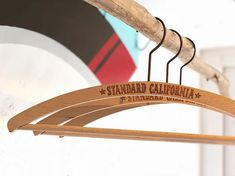SD Wood Hanger.  #standardcalifornia #スタンダードカリフォルニア #hanger