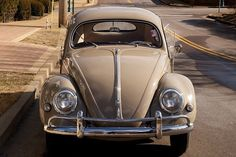"""1956 Volkswagen Beetle oval window model Nut and Bolt restoration California """"Black Plate"""" & title Award winning rear oval window model Rare and desirable Nile Beige exterior Correct eng..."""