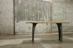 Vintage Industrial Reclaimed Work Bench by MDQualityGoods on Etsy, $1395.00 If could be available 36L x 34W X 29H
