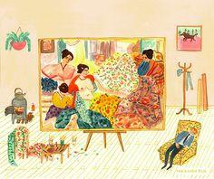 Paintings / Pinturas - maria luque