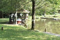 Sektempfang am See! Hochzeit in der Natur
