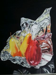 Red Pear watercolor