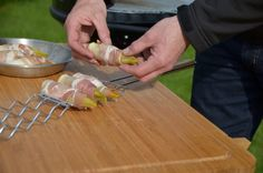 Barbecook houtskool barbecue Loewy accessoires worstenklem witloof in spek Barbecue, Vegetables, Food, Accessories, Barbacoa, Bbq, Bbq Grill, Hoods, Vegetable Recipes