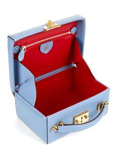 Grace small leather box bag | Mark Cross | MATCHESFASHION Small Leather Bag, Leather Box, Leather Craft, Popular Purses, Mark Cross, Box Bag, Vintage Handbags, Small Bags, Purses And Handbags