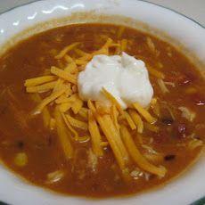 Crock Pot Chicken Tortilla Soup VIII Recipe