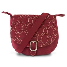New Travelon Crinkle 3Compartment Flapover Shoulder Bag Merlot ** You can get additional details at the image link. (This is an affiliate link and I receive a commission for the sales)