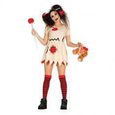Disfraz de Muñeca Vudú mujer #disfraces #carnaval #novedades2017
