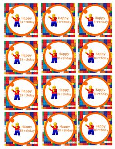 Lego Cupcake Toppers   Scribd