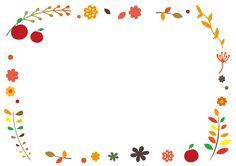 小さな秋のフレーム・枠 Cute Pastel Wallpaper, Flower Background Wallpaper, Flower Backgrounds, Background Patterns, Bullet Journal Quotes, Bullet Journal Inspiration, Crystal Drawing, Doodle Frames, Clipart Design