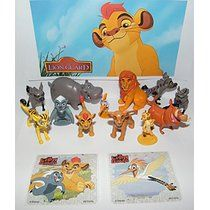 Disney The Lion Guard Deluxe Party Favors Goody Bag Fillers Set Of 14 Figures And Tattoos