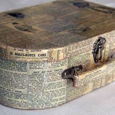 Ένα μικρό βαλιτσάκι, εφημερίδες και φαντασία και το lunchbox είναι έτοιμο να υποδεχθεί τα τοστάκια μας με Κρις Κρις