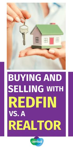What are the main differences in buying and selling a home with online real estate brokerage Redfin vs. an actual realtor? Find out here! #CentSai #Investment #Realestate #Redfin #realtor #realestatemarketing Online Real Estate, Real Estate Investing, Real Estate Marketing, Money Saving Tips, Stock Market, Home Buying, How To Introduce Yourself, Entrepreneurship, Retirement
