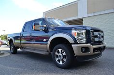 At Paramount Ford Valdese, New 2014 Ford Crew Cab F250 4X4, Blue Jeans Metallic, Want to feel like you've won the lottery? This 2014 Ford F250 4X4 CREW CAB will give you just the feeling you want, but the only thing your long lost relatives will be after is a ride