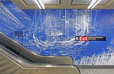 New York's long awaited Second Avenue subway features some incredible artwork