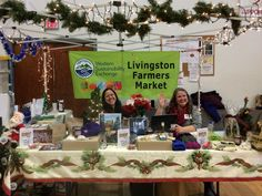 WSE's booth at our Holiday Farmers Market on Dec. 3, 2016