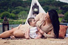 egyptian/beach family photos