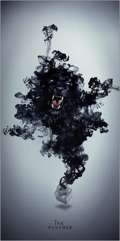 Ink Panther - When the doc showed me the Rhorshock (sp?) ink blots and I said I saw a black panther, they thought I was crazy!  What do YOU see?  Don't tell no one or you'll be locked away too!  When are you coming to visit me?