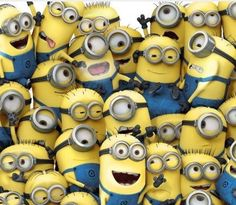 All I really want for my birthday is my own posse of minions.  ;-)