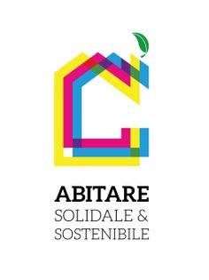 Abitare solidale e sostenibile: il logo