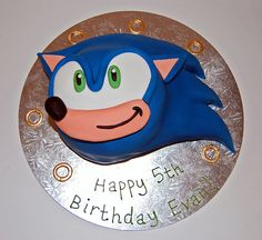 Beautiful Birthday Cakes » Sonic Cake