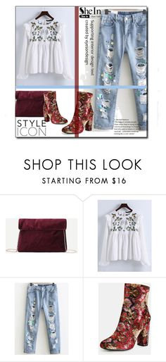 """""""SheIn 5/VIII"""" by saaraa-21 ❤ liked on Polyvore featuring vintage and shein"""