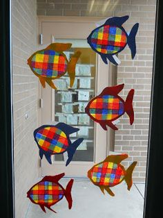 Mrs. T's First Grade Class: Book Ideas The Rainbow Fish Activity