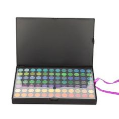 168 Colors Shining Eyeshadow + 15 Colors Blush Design Beauty Makeup Palette Collection, (crazy cart)