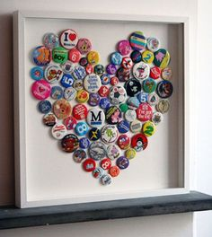 Frame your button or pin collections in a custom shadow box!
