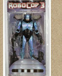 #Robocop With #Jetpack And #Assult Cannon - #Neca  #action #figures #figuras #ação #heróis #Heroes #movies
