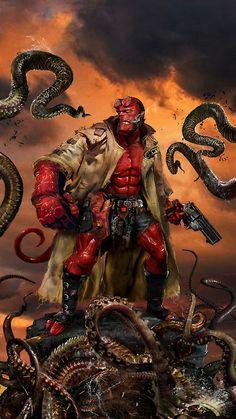 Hellboy by uncanny knack