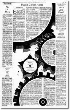A History of Graphic Design: Chapter 58 ; History of Layout Design and Modern Newspaper & Magazins