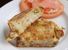 Inside & Outside Grilled Cheese Sandwich by bonnibella, via Flickr