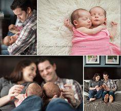 Colleen Christina Photography Blog|Portfolio Minneapolis, MN Twins Newborn Lifestyle Session