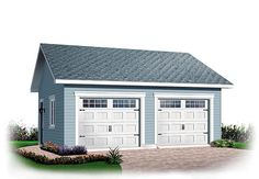 Ranch   Traditional   Garage Plan 64875