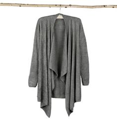 Barefoot Dreams Bamboo Chic Lite Calypso Wrap (LG/XL, Pewter) -- Visit the image link more details.