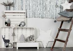 DIY Möbel aus Europaletten – 101 Bastelideen für Holzpaletten - holz paletten möbel selbst basteln DIY ideen leiter