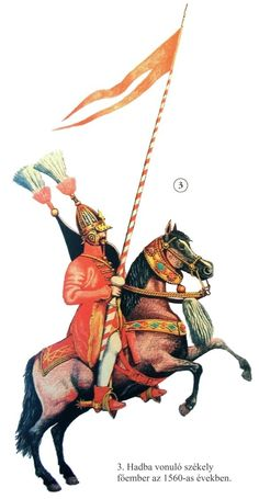 Szekler noble cavalryman, 1560