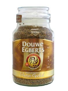 enjoybettercoffee.com A Great instant coffee.  Douwe Egberts Pure Gold Instant Coffee 7oz/200g
