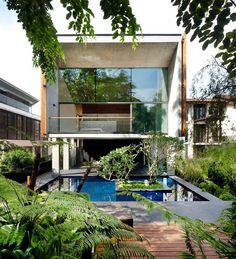 Projeto de Nicholas Burns, em Singapura