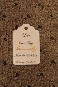 Tags for favors by KreativeBehr