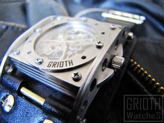 The INDUSTRIAL custom watch by GRIOTH