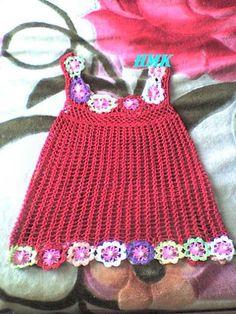 robe N° 2 au crochet