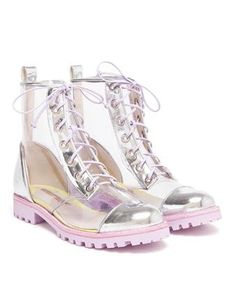 Transparant boots @Kathy Held Sittard