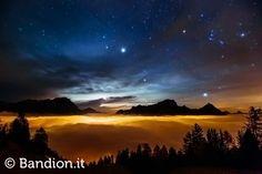 Una coltre di nubi - Cortina d'Ampezzo - Dolomites - Dolomiti