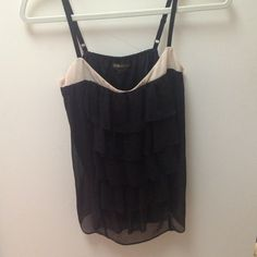 Guess top Black and cream top Guess Tops
